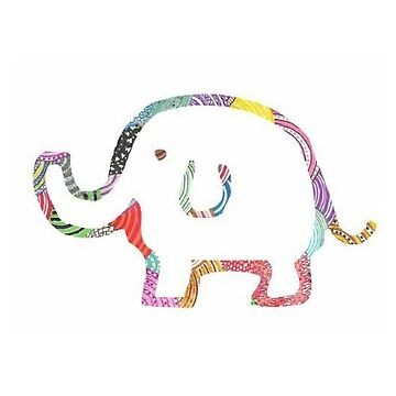 Pequeño elefante de clairechesnut