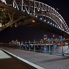 Sydneys Bright Lights by Paul Barnett