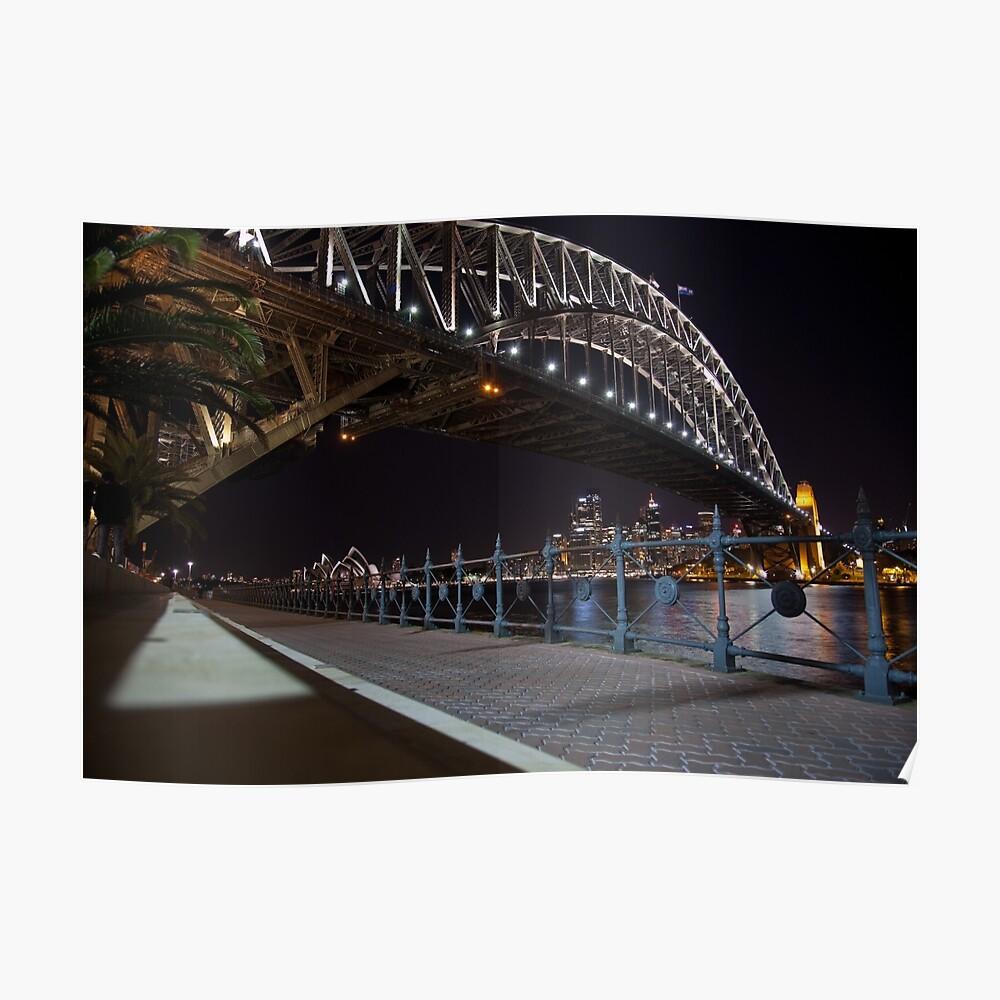 Sydneys Bright Lights Poster