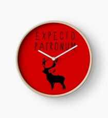 Expecto Patronum tw Clock