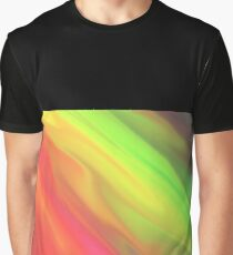 color warp Graphic T-Shirt
