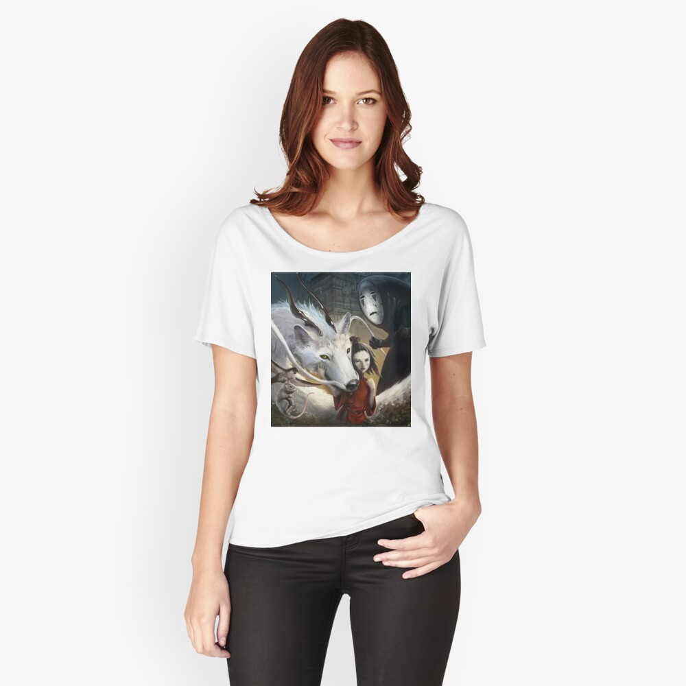 Chihiros Realistisch Loose Fit T-Shirt