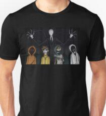 Slenderman and Proxies Unisex T-Shirt