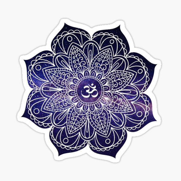 Mandala. Sticker