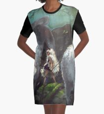 Mononoke Hime  Graphic T-Shirt Dress