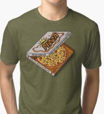 Ninja Pizza - Party Tri-blend T-Shirt