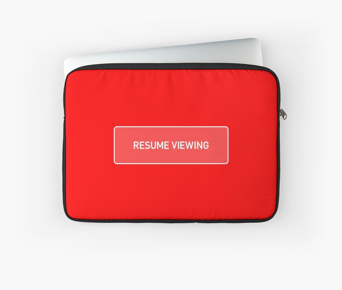 black mirror resume viewing laptop sleeves by colorbandshirts