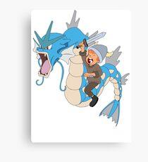 Gyarados pokemon Canvas Print