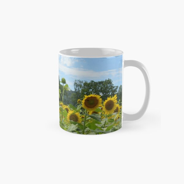 Sunflower field Classic Mug