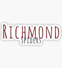 Richmond spiders Sticker