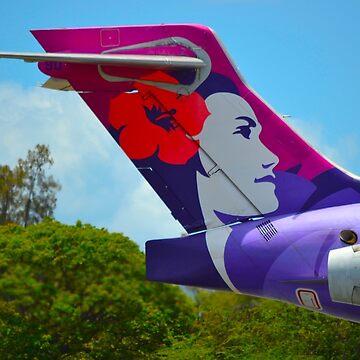 Hawaiian 717 Tail by mattjwett773