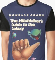 The Hitchhiker's Guide to the Galaxy - Cover Graphic T-Shirt