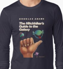The Hitchhiker's Guide to the Galaxy - Cover Long Sleeve T-Shirt