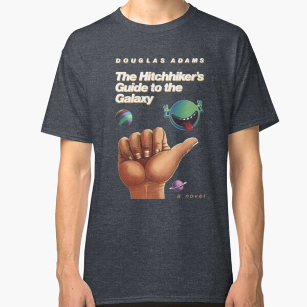 The Hitchhiker's Guide to the Galaxy - Cover Classic T-Shirt