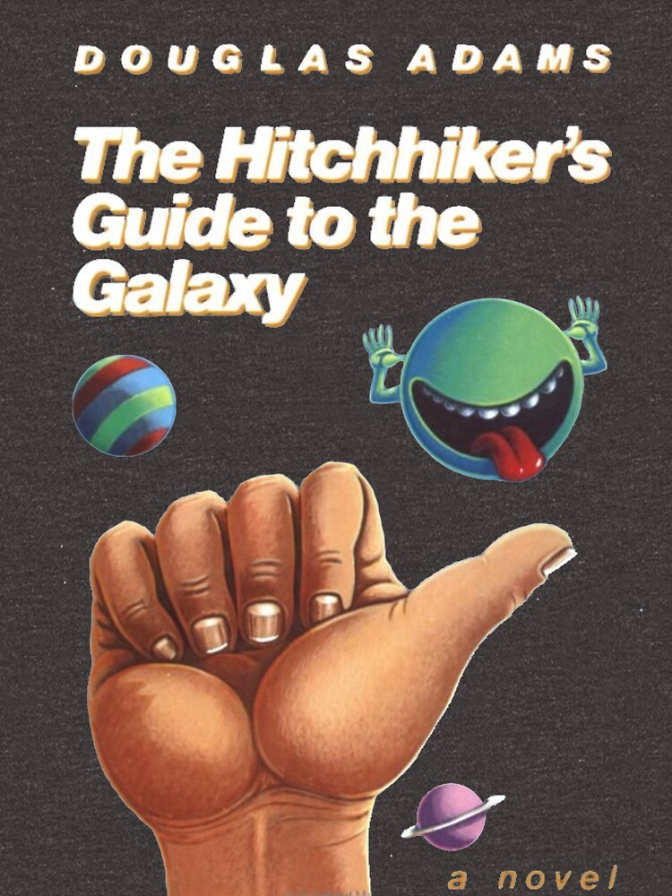 The Hitchhiker's Guide to the Galaxy - Cover by MerrillP99