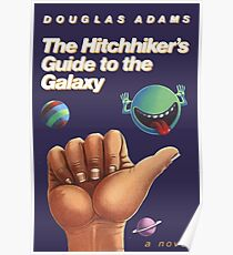 The Hitchhiker's Guide to the Galaxy - Cover Poster