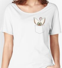 Pocket Momo Women's Relaxed Fit T-Shirt