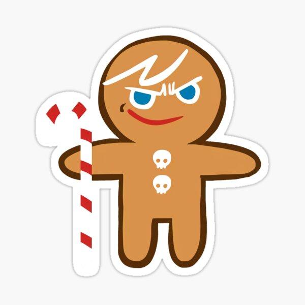 Gingerbrave Grinsen! Cookie Run Ofenbruch Sticker