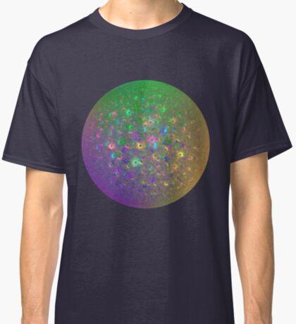 Planet Two #Fractal Art Classic T-Shirt