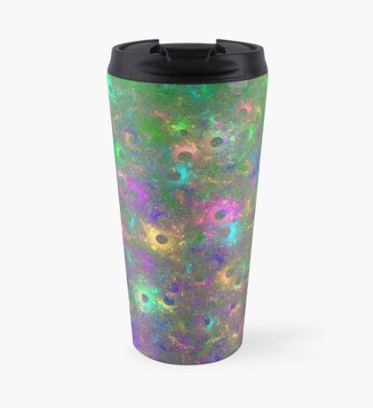 Planet Two #Fractal Art Travel Mug