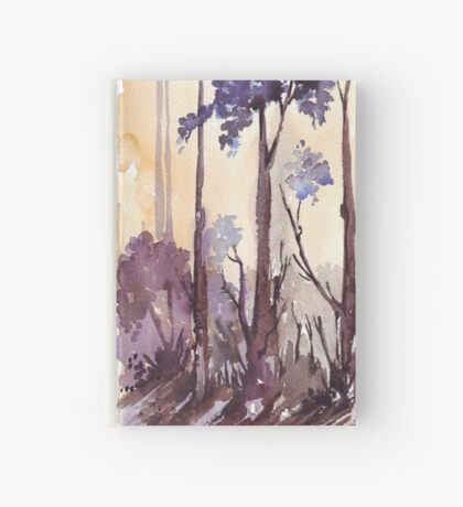 Silvery shadows in the Bluegum bush Hardcover Journal