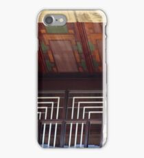 Painted Eaves, Gridded Windows, Frank Lloyd Wright iPhone Case/Skin