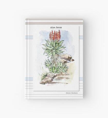 Aloe ferox in my garden Hardcover Journal
