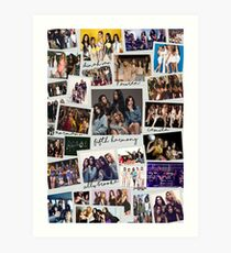 Fifth Harmony Vintage Shots Art Print