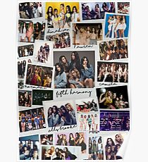 Fifth Harmony Vintage Shots Poster