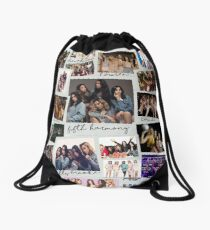 Fifth Harmony Vintage Shots Drawstring Bag