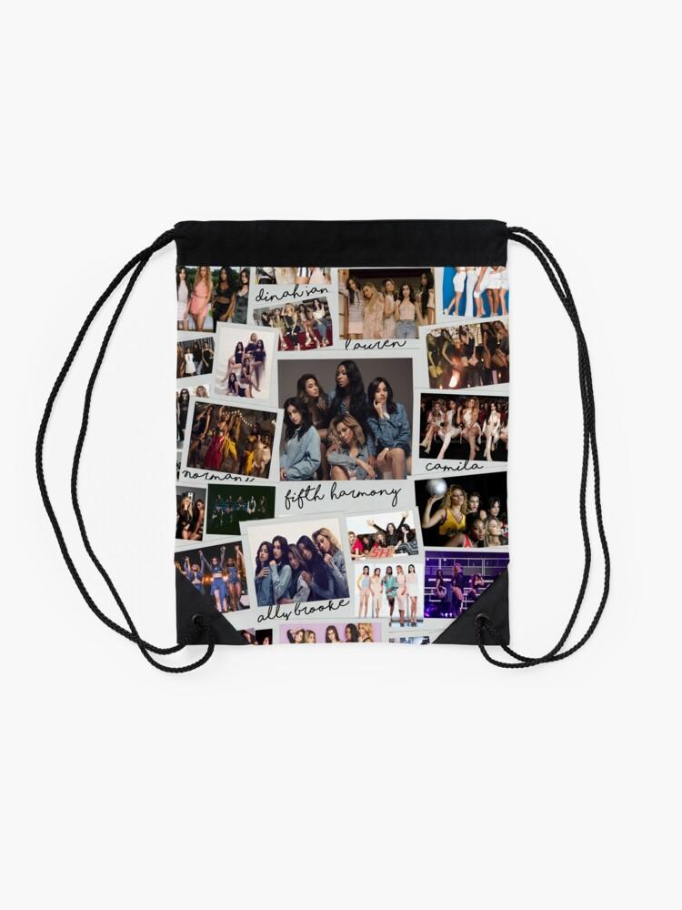 Vista alternativa de Mochila de cuerdas Fifth Harmony Vintage Shots