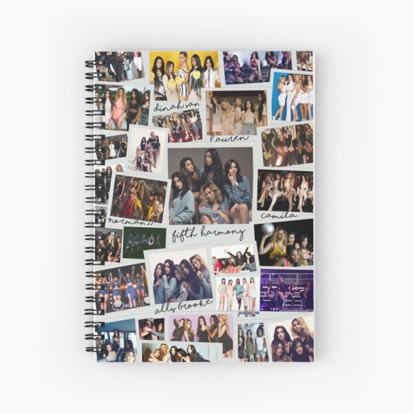 Fifth Harmony Vintage Shots Spiral Notebook