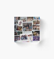Fifth Harmony Vintage Shots Acrylic Block