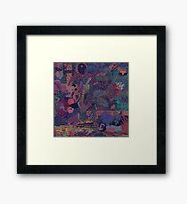 ZABA - Backdrop  Framed Print