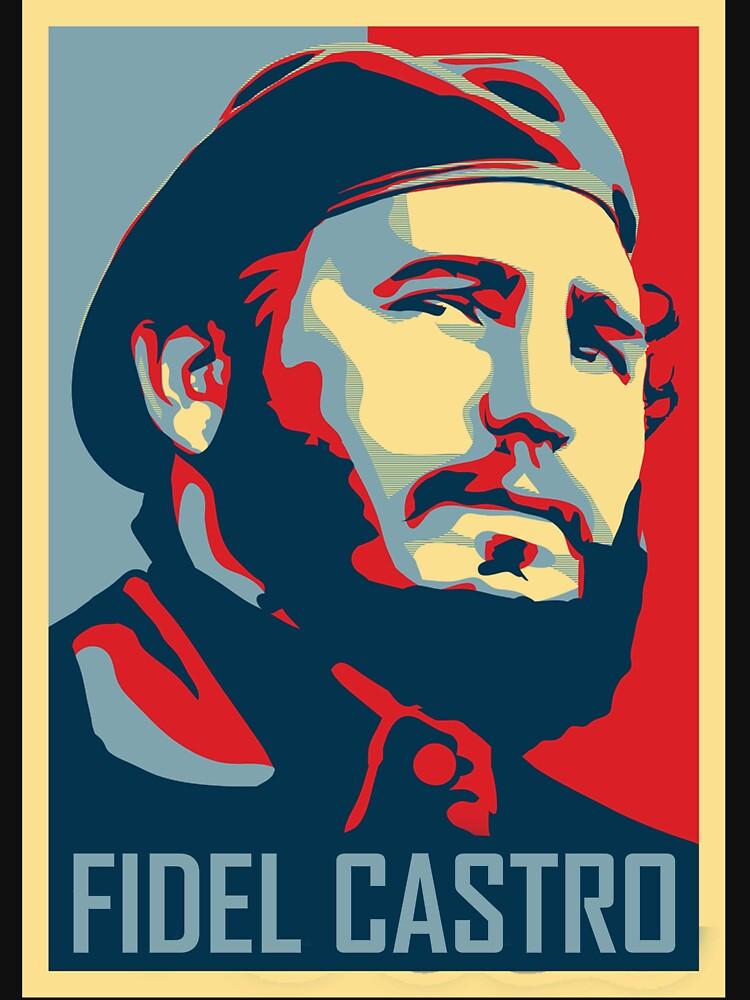 Quot Fidel Castro Quot T Shirt By Jondal Redbubble