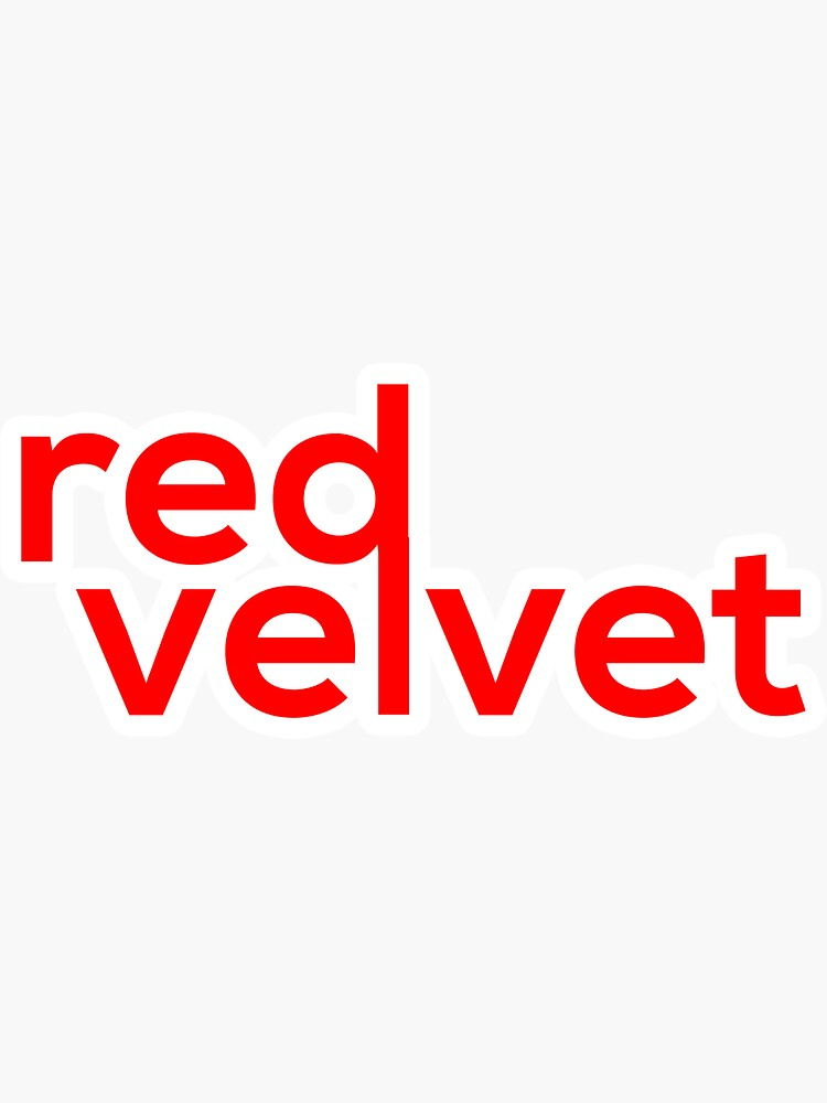 Red Velvet Logo by afterbutterfly