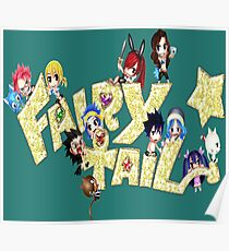 Chibi Fairy Tail Blink - Anime Poster