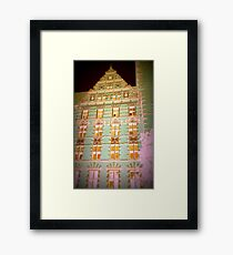architecture photo Framed Print
