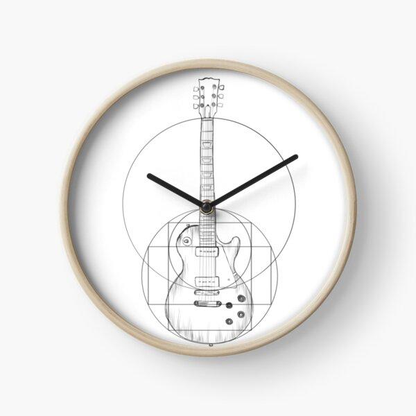 Vitruvian Guitar v2 Clock