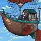 """Tuki of the Cloud Folk""  by NadiaTurner"