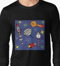 Space ships Long Sleeve T-Shirt