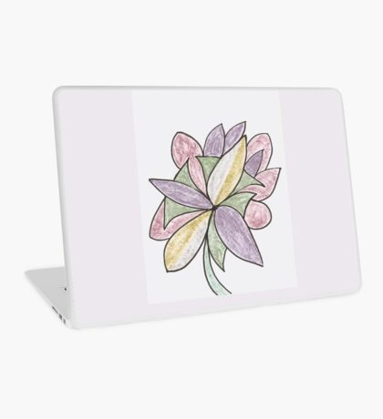 Carnivaled Flowers (a Bouquet of Pastel Colours) Laptop Skin