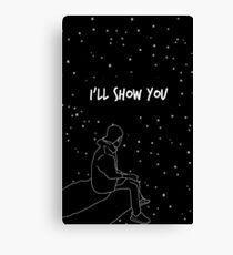 "Justin Bieber Drawing  ""ll Show You "" Canvas Print"