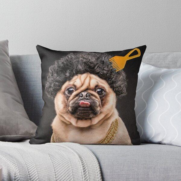 The Pug Life - Ice Puge Throw Pillow