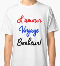 EXO - L'Amour Voyage Bonheur Classic T-Shirt