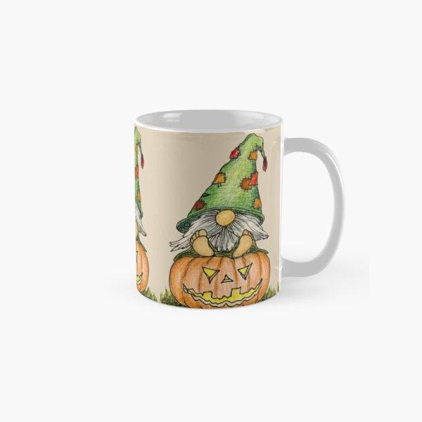 Jack-O-Lantern Gnome Classic Mug