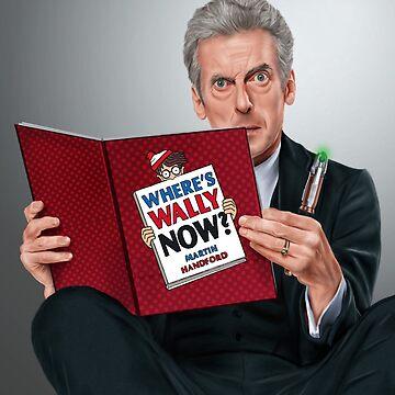 12th Doctor by SanFernandez