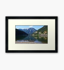 Ripple in the Mountains, Washington State, USA Framed Print