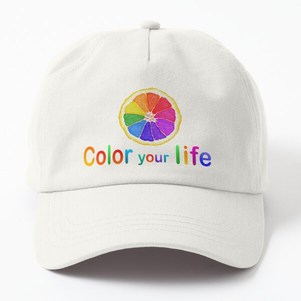 Color your life  Dad Hat