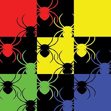 Psychedelic Spiders by Strawberry Blue by GreenTeacup